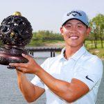 19 05 19 Luke Kwon campeon en el Qinhuangdao Championship del PGA Tour China