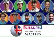 Nueve españoles a por el British Masters, uno de los eventos más prestigiosos y mejor remunerados