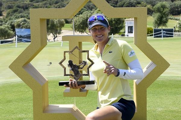 Céline Herbin, campeona en La Reserva