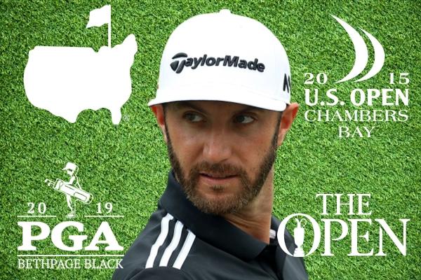 Con el subcampeonato en el PGA, Dustin Johnson completa su «Grand Slam» de segundos puestos