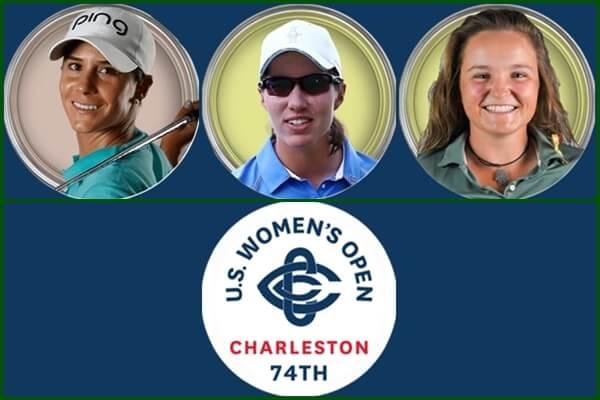 Azahara, Carlota y Fátima, participantes españolas en el US Women's Open 2019
