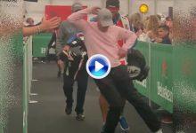 Jamie Donaldson hace viral este vídeo en el que muestra sus dotes de bailarín a lo Michael Jackson