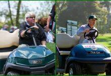 John Daly no es el primer jugador que utiliza buggy en un Grande. Casey Martin lo hizo en 2012 y 1998