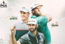 Rahm recibe tratamiento de estrella y jugará con DJ y Spieth las dos primeras jornadas del US PGA