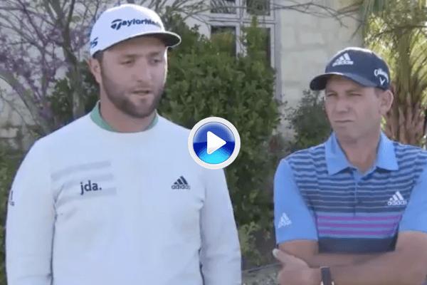 Jon Rahm y Sergio confirman con este vídeo que estarán el próximo mes en el Andalucía Masters