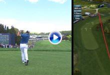 Jon Rahm comienza el US PGA con un grandísimo birdie tras una espectacular salida desde el tee