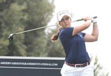 María Parra sigue subida a la nube en Sotogrande. La gaditana es tercera finalizada la primera ronda