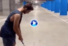 ¡Precisión milimétrica! Alucinen con uno de los putts más largos que podrán disfrutar en este 2019