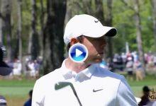 Estos fueron los 10 mejores golpes en la 3ª Jorn. del PGA. Rory, Koepka, Bradley, Wallace,… sus autores
