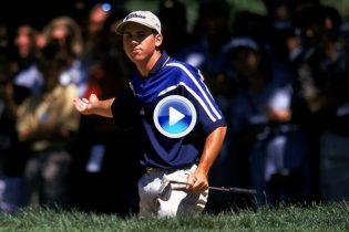 ¿Recuerdas… cuando Sergio García nos hizo vibrar con su duelo final ante Tiger en el PGA de 1999?