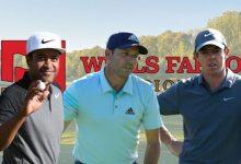 Partidazo para abrir boca en el Wells Fargo. Sergio jugará con Rory y Finau (Ver HORARIOS y PARTIDOS)