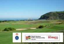 El Tour WAGC Spain llega al RGC Zarauz, Guipúzcoa. Un espectacular campo de golf al borde del mar