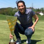 19 05 31 Maria Beautell campeona en el Lavaux Ladies Championship del LET Access Series