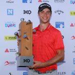 19 06 02 Guido Migliozzi campeon en el Belgian Knockout del European Tour