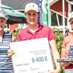 19 06 08 Nina Pegova campeona en el Viaplay Ladies Finnish Open del LET Access Series