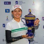 19 06 23 Atthaya Thitikul campeona en el Ladies European Thailand Championship del Ladies European Tour