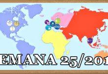 71 español@s se baten el cobre esta semana. EEUU, Alemania, Francia, España, Tailandia… sus destinos