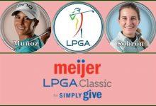 Azahara Muñoz y Luna Sobrón, a la caza de una victoria que se resiste en el Meijer LPGA Classic