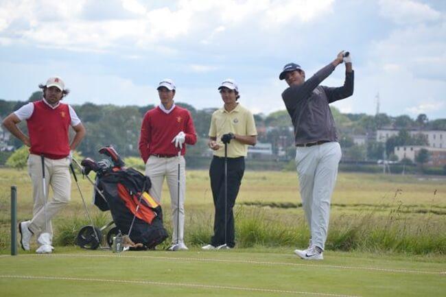 López-Chacarra debuta en el PGA Tour con una ronda bajo par y da muestras de que puede ir a más
