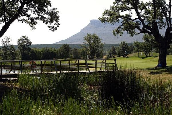Vista parcial del Club de Golf Soria