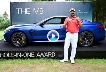 ¡Premio! Bhullar se irá de Munich con un fantástico BMW M8 de 194.000€ gracias a este Hoyo en Uno