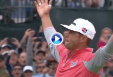 Dardos, putts, chips… Lo mejor de lo mejor de la 4ª jornada del US Open 2019, a tiro de click