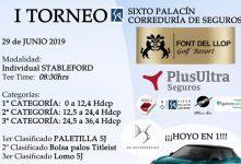 «I Torneo Sixto Palacín Correduría de Seguros» en Font del Llop, evento en el está en juego un coche