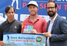 Jacobo Pastor se impone en la primera prueba del Seve Ballesteros PGA Spain Tour celebrada en Soria