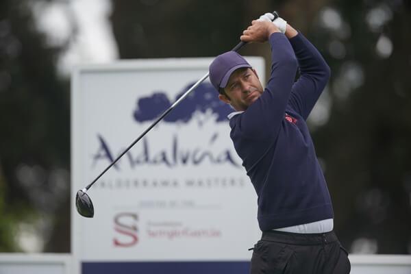 Jorge Campillo en la pasada edición del Andalucía Masters