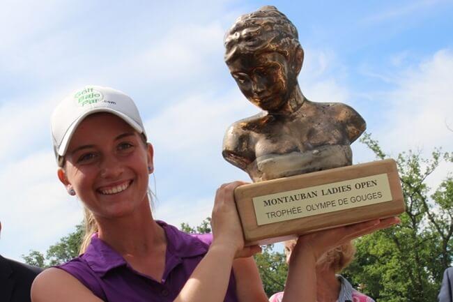 Laura Gómez, campeona en el Montauban Ladies Open