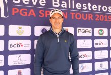 Manu Ballesteros lidera en Soria, con 2 de ventaja, la 1ª prueba del Seve Ballesteros PGA Spain Tour '19
