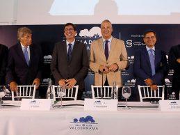 Marín, vicepresidente de la Junta andaluza: «El golf tiene un gran peso en nuestra industria turística»