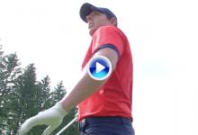 Rory McIlroy dio una lección de cómo debe jugarse un par 5: ¡la dejó dada para anotarse el eagle!