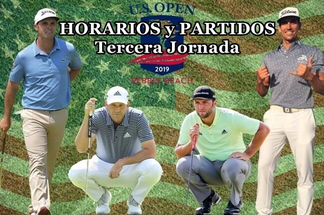 Arnaus será el primer español en pinchar bola en Pebble Beach este sábado (HORARIOS y PARTIDOS)