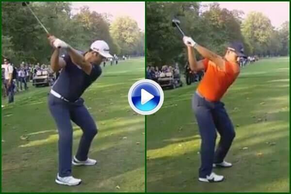 ¿Que swing le gusta más, el de Jon o el de Sergio? Vea, compare y disfrútelos a cámara super lenta