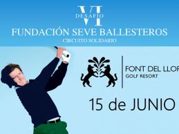 Participa en Font del Llop en el Circ. Solidario del jugador más grande de la historia del golf español