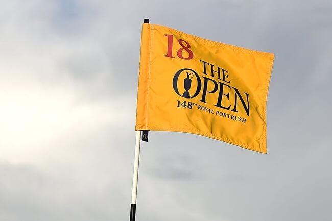 Bandera The Open