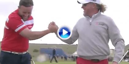 """El Scottish Open de 2015 nos trajo la gran imitación de """"Beef"""" a Jiménez tras un eagle del inglés"""