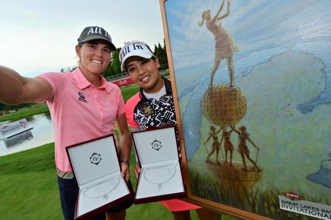 Clanton y Suwannapura hacen saltar la sorpresa en el Great Lakes y se alzan con el triunfo en la LPGA