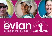 El Evian Champ., 4º Major del año, celebra las bodas de plata con 3 españolas, Carlota, Azahara y Nuria
