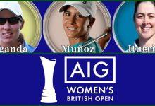 Carlota, Azahara y Nuria, tridente español en el British Open Femenino, último Grande del curso