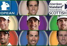 Turno para siete españoles en el Scottish Open con Cabrera Bello al frente, evento que ya ganó en 2017