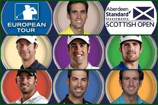 Españoles en el Scottish Open