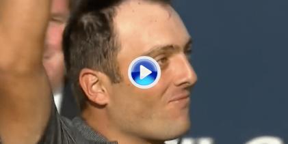 ¡Qué final! Reviva el excelso triunfo de Francesco Molinari en Carnoustie en solo cinco minutos