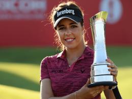 Hall reconoce que unos ladrones le robaron el trofeo del Women's British Open hace dos meses