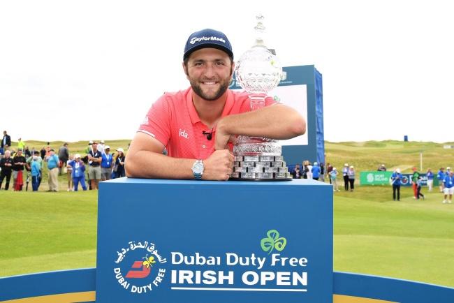 Jon Rahm Ranking Irish Open 19 @ET