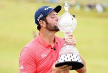 Rahm, 1er. jugador en la historia del European Tour en sumar 3 eventos de las millonarias Rolex Series