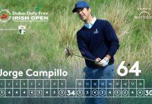 Campillo destroza Lahinch a base de dardos y ya mira de reojo el liderato del Irish Open. Rafa, T12