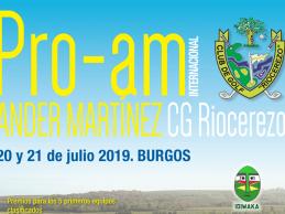 Riocerezo, sede del Pro-Am Intern. Ander Martínez, evento solidario en favor de la ONG Idiwaka