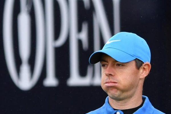 El favorito, McIlroy, tocado y… ¿hundido? 79 golpes con cuádruplebogey en el uno fue la tarjeta de Rory